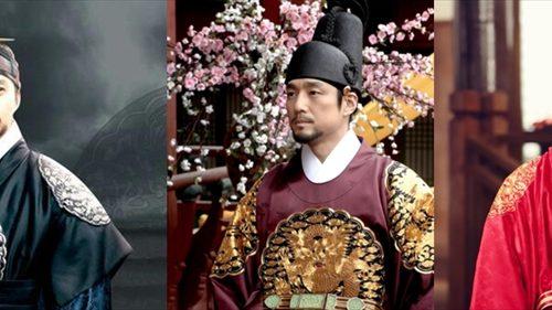 時代劇で李朝鮮王朝の王を演じた俳優